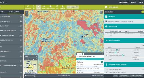 Application du mois : Système de gestion de l'information sur les bio-ressources de l'Alberta