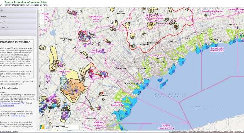 Application du mois : Atlas d'information sur la protection des sources de l'Ontario