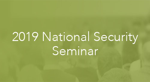 Why should you attend Esri Canada's 2019 National Security Seminar?