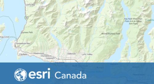 Comment pouvez-vous accéder au fond de carte vectoriel de la carte communautaire du Canada?