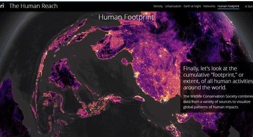Cinq façons d'étudier les changements climatiques à l'aide de cartes