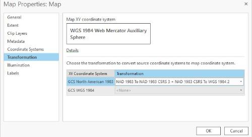 Votre guide pour les transformations de systèmes de référence dans ArcGIS Online (Partie 3)