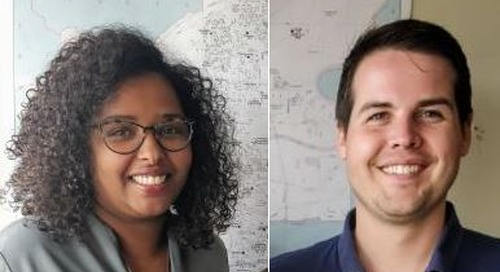May's GIS Ambassadors: Scott Humphrey and Hodan Jama from Edmonton