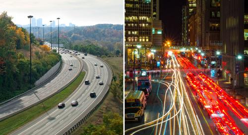 Différents réseaux routiers, un seul système de référencement d'emplacement pour les gérer tous