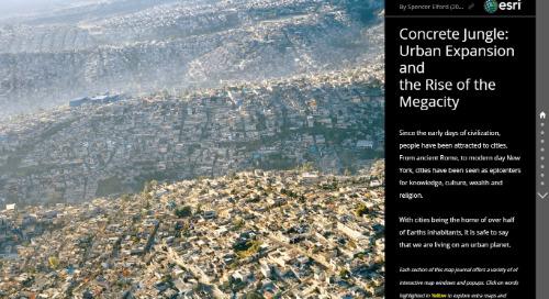 Application du mois : Jungle de béton : l'étalement urbain et l'émergence de mégapoles