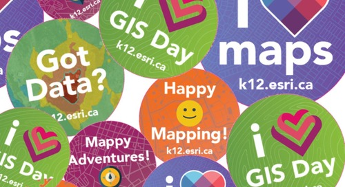 Get ready for a mappy GIS Day in 5 easy steps!