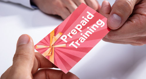 Prepaid Training Days: The solution to save time and money!