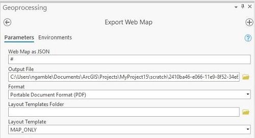 Trucs et astuces pour partager des outils d'impression à partir d'ArcGIS Pro