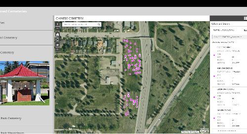 Application du mois : Cimetières de la Ville de Calgary