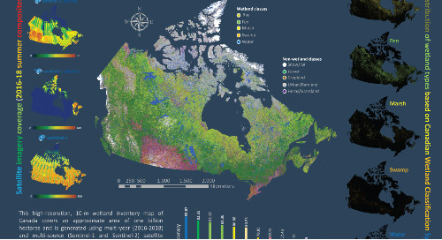 Canada-Wide Wetland Inventory Map