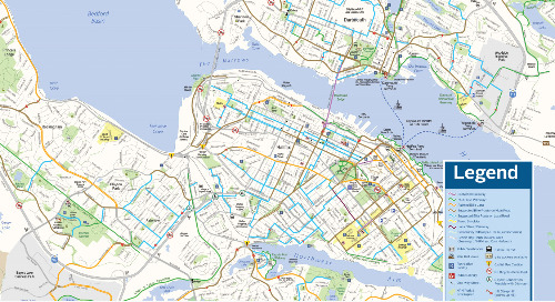Halifax Bike Map 2019