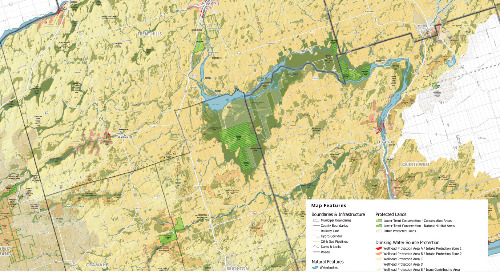 Lower Trent Conservation Watershed Region Map