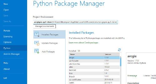 ArcGIS Pro et le clonage d'environnements Python : problèmes courants et solutions