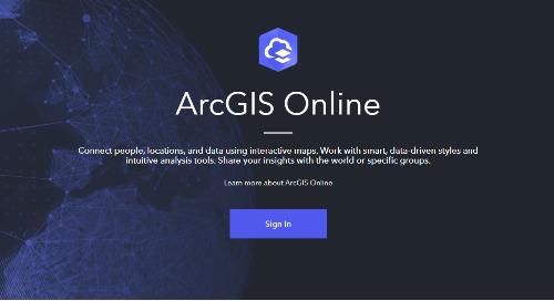 Avantages d'utiliser ArcGIS Online