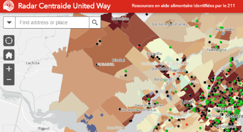Application du mois : La COVID-19 sur le Radar de Centraide United Way
