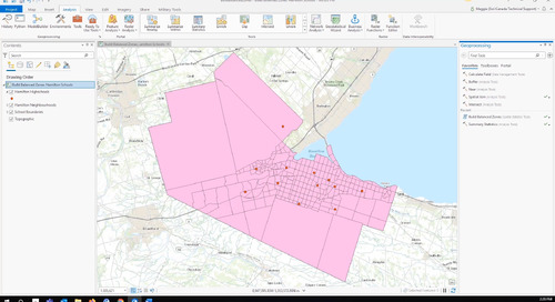 ArcGIS Pro Tool Spotlight: Build Balanced Zones