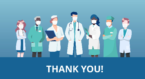 Thank you to our front-line health professionals