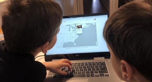 Des ambassadeurs des SIG soutiennent l'apprentissage de leurs enfants à la maison avec ArcGIS