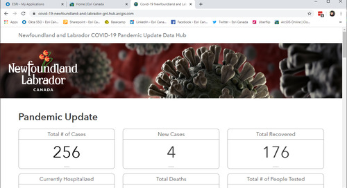 App of the Month: Newfoundland & Labrador COVID-19 Pandemic Update Data Hub