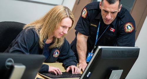 Des mesures d'urgence réactives pour la municipalité régionale d'Halifax grâce à une application SIG