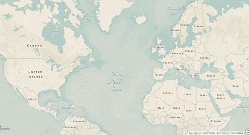 Des fonds de carte fascinants pour votre prochaine carte web dans ArcGIS Online