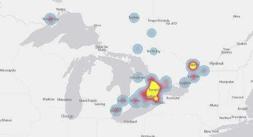 Des enseignants de géographie utilisent ArcGIS pour l'apprentissage de leurs élèves à la maison
