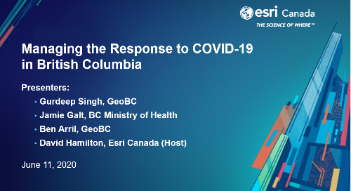 Managing the Response to COVID-19 in British Columbia