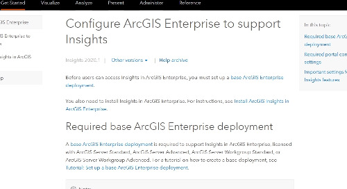 A Guide to Making Database Connections using ArcGIS Insights Enterprise Version