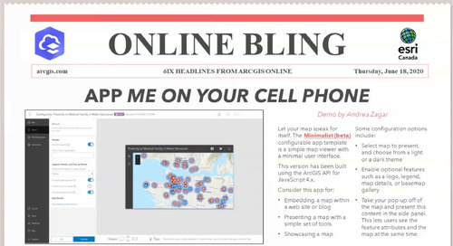 Online Bling 6ix Headlines from ArcGIS Online
