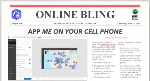 Online Bling 6ix Headlines from ArcGIS Online