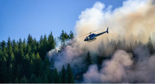 ArcGIS Dashboards pour surveiller les risques de feux de forêt en Colombie-Britannique