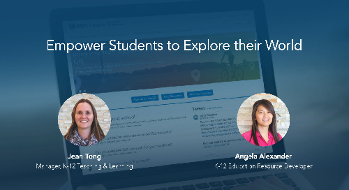 Empower Students to Explore their World