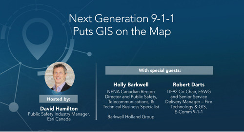 Next Generation 9-1-1 Puts GIS on the Map