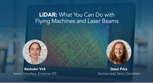 LiDAR: What You Can Do with Flying Machines and Laser Beams