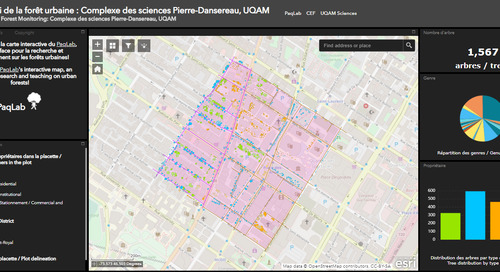 App of the Month: Urban forest monitoring in Montréal
