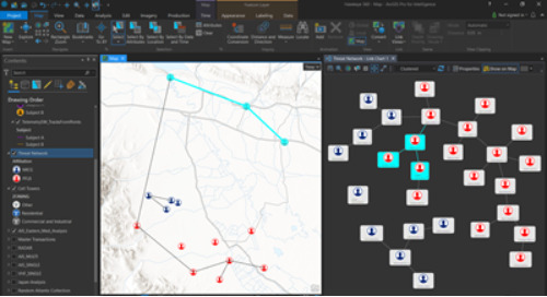 Powerful GIS toolsets for intelligence professionals