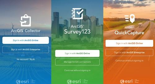 Démystifier les applications ArcGIS de collecte de données sur le terrain