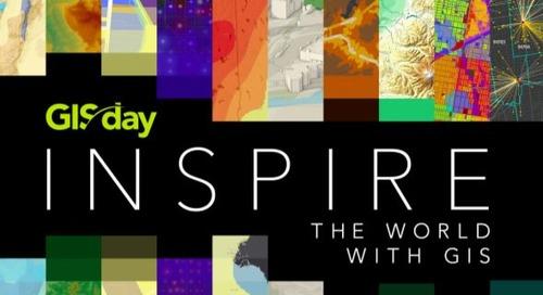 La Semaine d'éveil à la géographie est arrivée! Célébrons le GIS Day 2020!