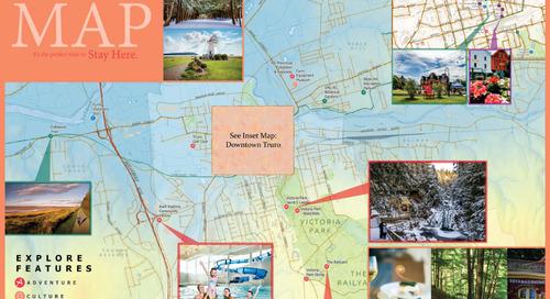 Une carte pour explorer la région