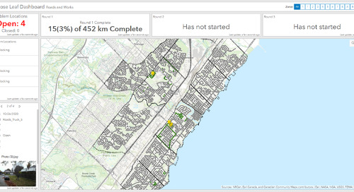 Town of Oakville makes sweeping changes to loose-leaf collection with GIS