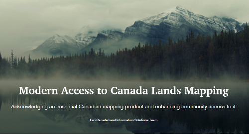 Modern Access to Canada Lands Mapping