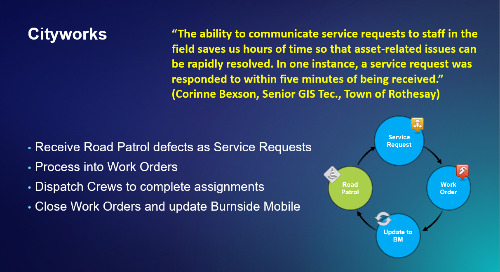 Cityworks and Mobile Integration to Ensure Levels of Service