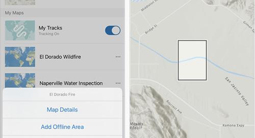 ArcGIS Field Maps en un coup d'œil