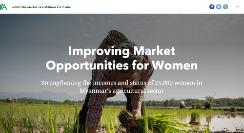 App of the Month: Improving Market Opportunities for Women