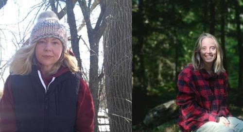 Les ambassadrices des SIG du mois de mars : Julie Henry et Jacey Moore