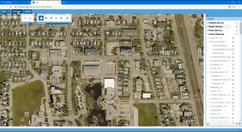 EagleView and Esri Canada Announce New Integration Within Cityworks Platform