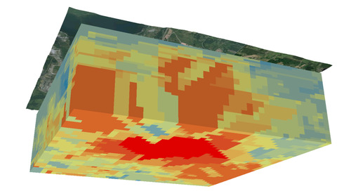 Explore Subsurface Geology Using Voxel Layers in Three Easy Steps