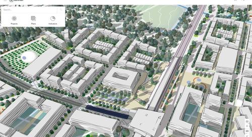 Gérer la croissance durable dans sept villes avec ArcGIS Urban