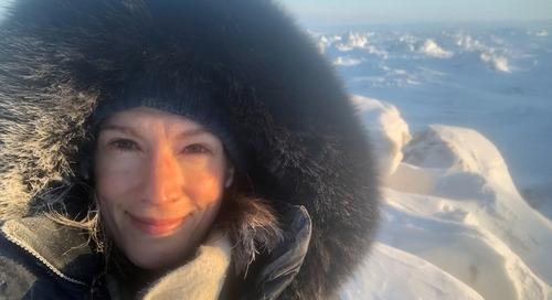 L'adaptation, thème de prédilection de Julia Landry, formatrice au Collège de l'Arctique du Nunavut
