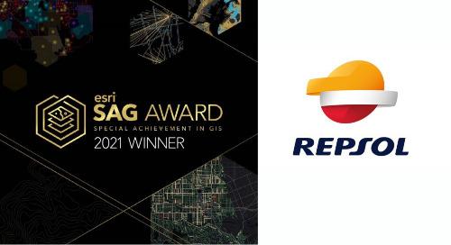 Repsol remporte le prix Special Achievement in GIS d'Esri